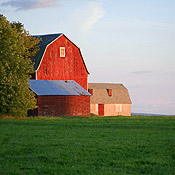 Red Barn, Agriculture in Portage County