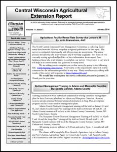 CWAS Newsletter Jan14