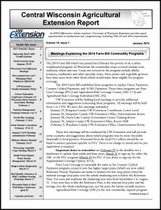 CWAs Newsletter Jan15