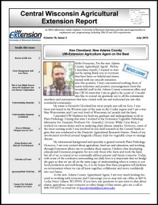 CWAS Newsletter Jul15