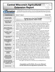 CWAS Newsletter Oct14