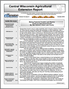 CWAS Newsletter Oct16