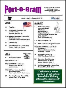 June-August16 Port-o-Gram