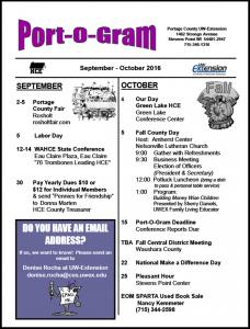 September/October16 Port-o-Gram