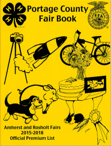 Portage County Fair Book: Click here to open the Fair Book file
