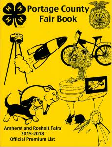 Portage County Fair Book: Click here to open the Fair Book file